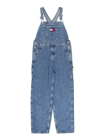 90s Tommy Hilfiger Logo Dungarees - S