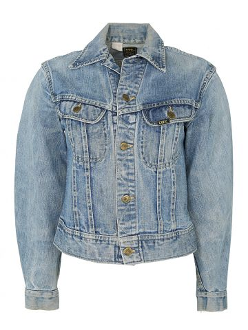 1970s Lee Blue Rinse Denim Jacket - S