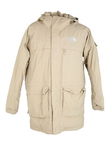 North Face Beige Overcoat - XL