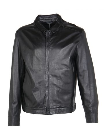 Bally Black Leather Jacket - S
