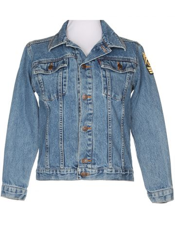 Levi's Stonewash Denim Trucker Jacket - S