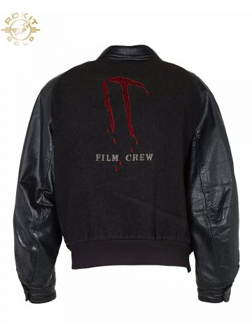 80s IT Stephen King Black Film Crew Jacket - XL