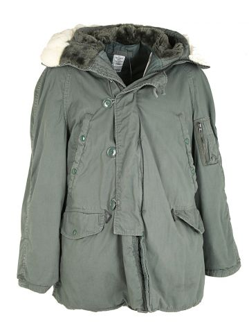 90s US Air Force Parka Coat - L