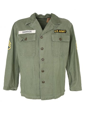 1950s US Army OG-107 Type 1 Shirt - M