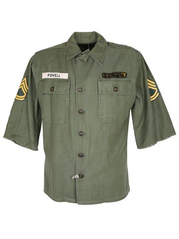 60s US Army OG-107 Type 1 Utility Shirt - M