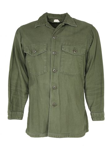 1967 OG 107 Type 3 Vietnam Spec US Army Shirt - M