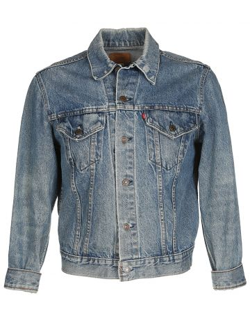 70's Levis Blue Denim Jacket - M