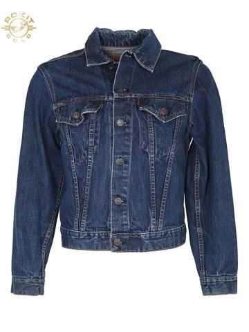 Vintage 1960s Levi's Big E 70505 Denim Trucker Jacket - S