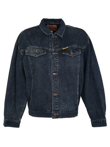 80's Edmin Dark Wash Denim Jacket - XL