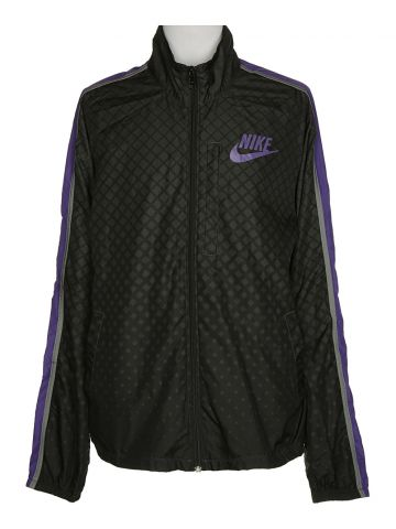 Nike Black Windbreaker Jacket - M