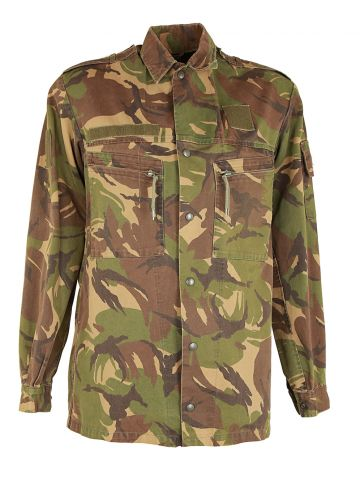 80s Dutch Army Camouflage Combat Jacket - M