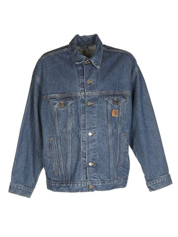 Carhartt Blue Denim Jacket - XL