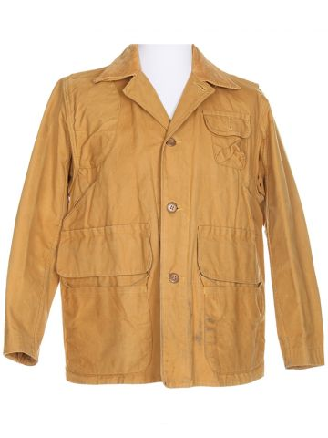 Vintage 50s Red Head Brand Duck Chore Hunting Jacket - L