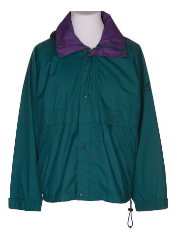 90s Helly Hansen Green Anorak Jacket - S