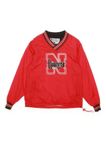 Champion Huskies Red Shell Sweatshirt - S