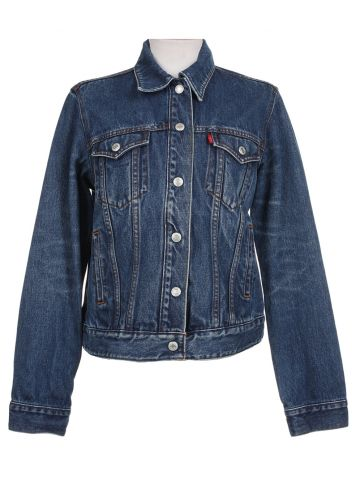 Levi's Mid Blue Denim Jacket - L