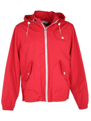 Penfield Red Anorak Zip-Up Jacket - L