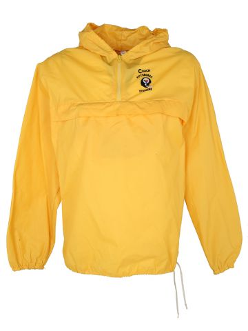 70s Pittsburgh Steelers Yellow Coach Windbreaker Jacket - XL