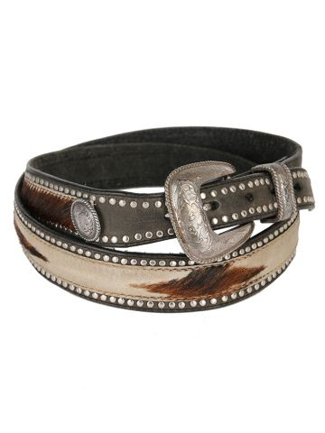 Tony Lama Cowhide Studded Western Belt - W36-39
