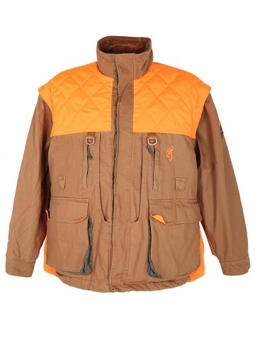 Browning Canvas & Orange Hi-Vis Hunting Chore Jacket - L