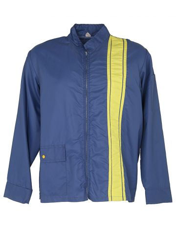 70s Blue Racing Jacket - L
