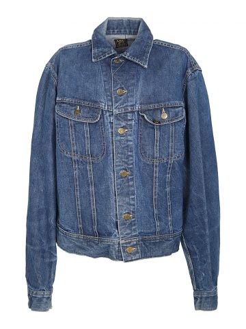 60s Lee 101-J Rider Indigo Denim Jacket - M