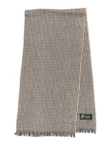 Wyvern Tweeds Patterned Wool Scarf