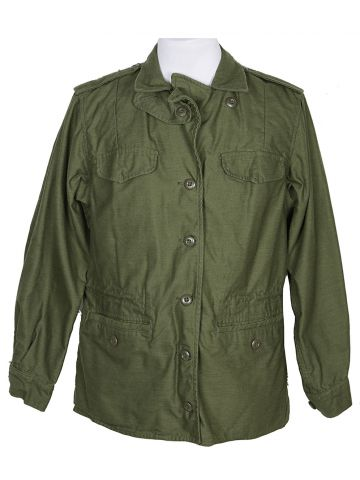 70s US Army Womans Issue Jacket - L