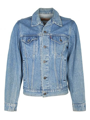 Levis Jacket Blue Rinse Trucker Jacket  S