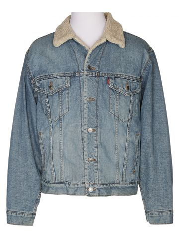 Levi's Fleece Lined Denim Jacket - M