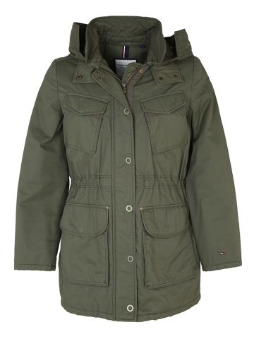 Tommy Hilfiger Military Inspired Olive Green Jacket - L