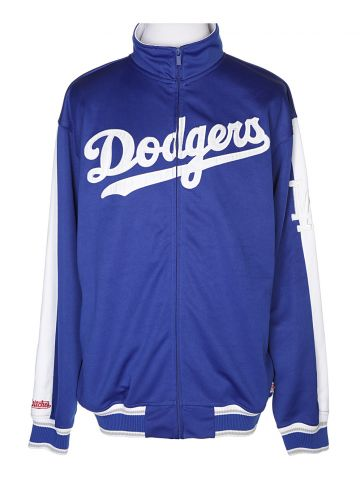 Blue Dodgers Track Jacket - L