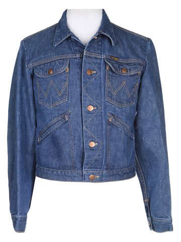 70s Wrangler Denim Jacket - XS