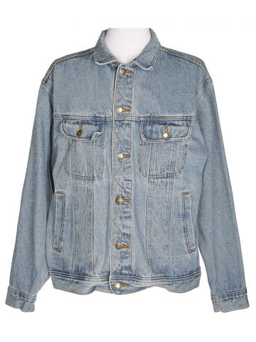 90s Wrangler Blue Denim Jacket - L
