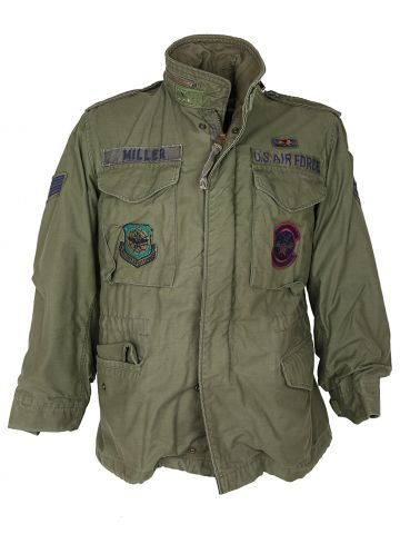 1981 M-65 Field Jacket with US Air force Sgt. Stripes - S