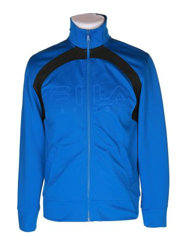 Fila Blue & Black Track Jacket - S