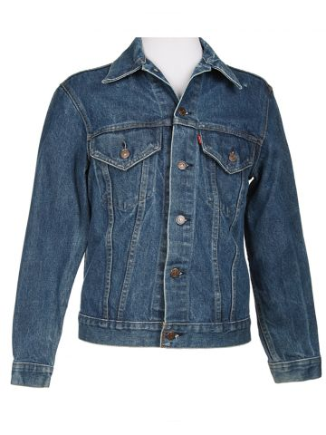 Levi's Blue Denim Jacket - XS