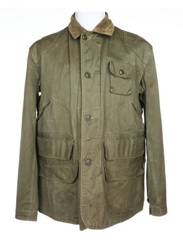 60s Red Head Green Hunting Jacket - L
