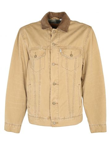 Cotton Levis Trucker Style Jacket - L