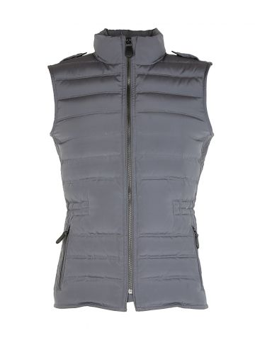 Burberry Green Padded Bodywarmer Gilet - M