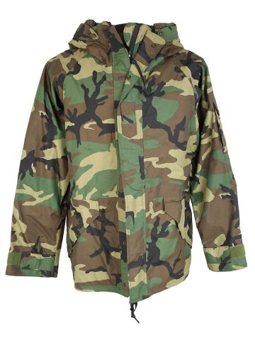 Green Camo US Army Cold Weather Parka - L