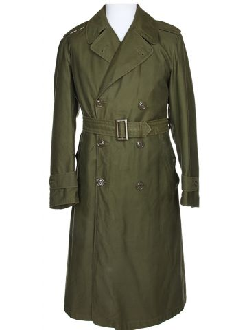US Army Green Raincoat - S