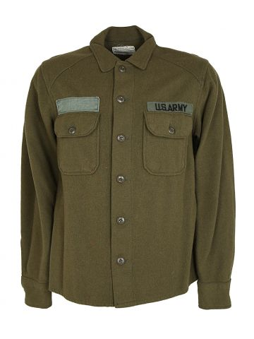 1978 US Army Wool OG Shirt - M