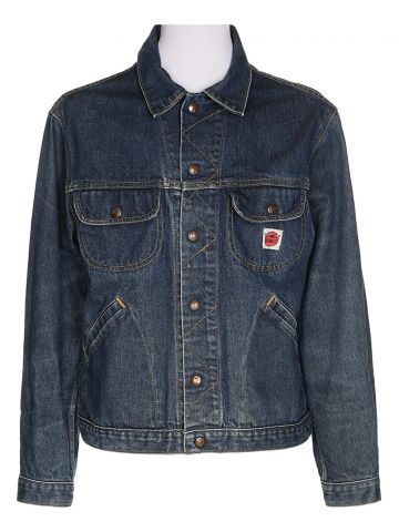 60's Blue Denim Jacket - M