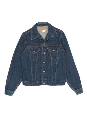 90's Blue Denim Jacket - M