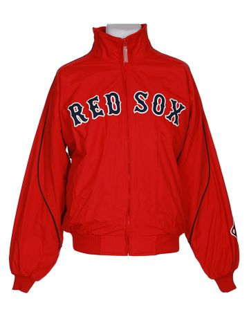 Red Sox Zip Up Fleece Lined Sport Jacket - L
