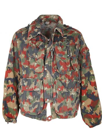 German Army Flek Pattern Camouflage Jacket - L