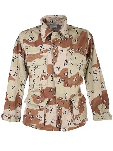Military Chocolate Chip Camo US Army Shirt - S