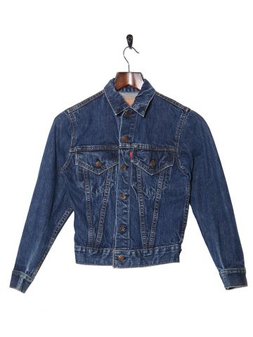 1968 Levi's Big E Type III Blue Denim Jacket - S